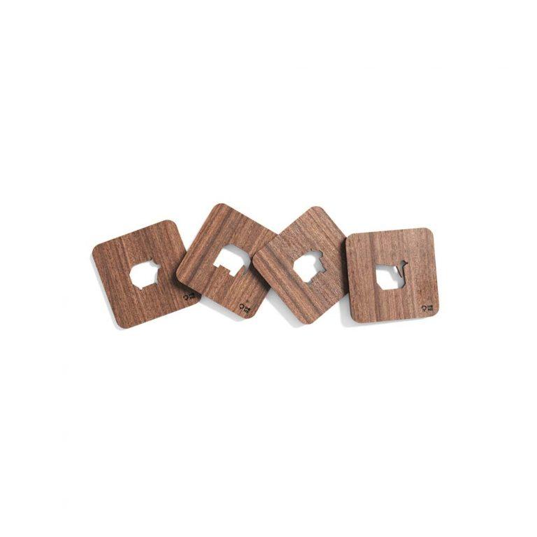 Podkładki drewniane zwierzatko_orzech_Post